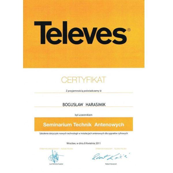 Certyfikat_TELEVES_2011